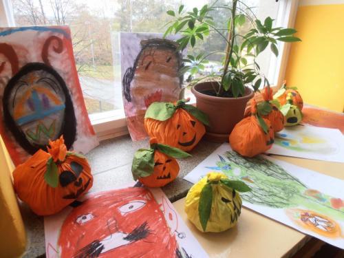 Halloween 2012 ve 2. a 4. ročníku